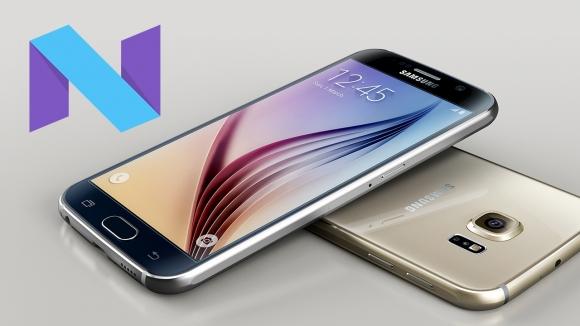 Galaxy S6 ve S6 edge için Nougat geliyor