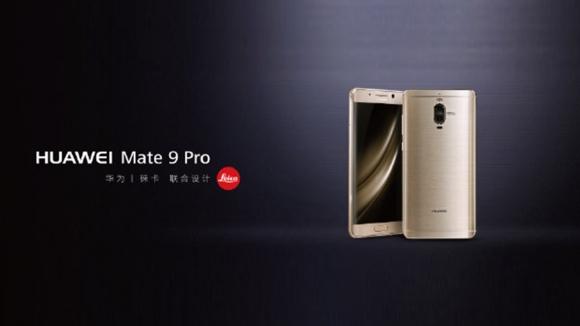 Huawei Mate 9 Pro duyuruldu!