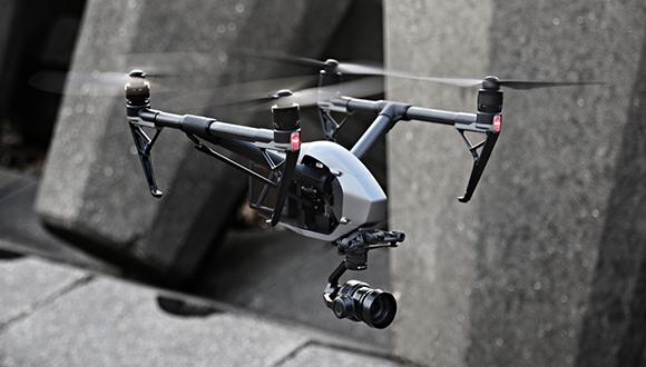 DJI'dan çift kameralı drone: Inspire 2