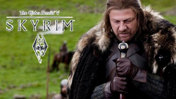 Game of Thrones fragmanını Skyrim'de izleyin!