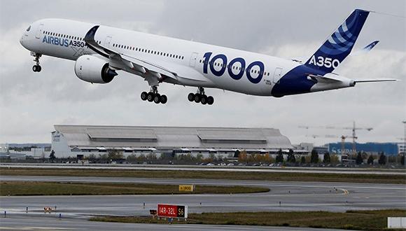 Airbus A350-1000 ilk uçuşunu gerçekleştirdi!