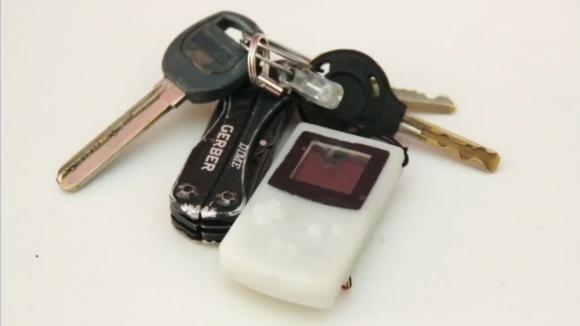 Anahtarlığınızda taşıyabileceğiniz Game Boy!