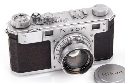 Antika Nikon, görülmemiş fiyata alıcı buldu!
