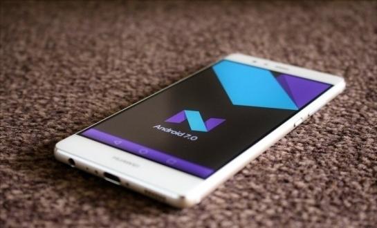 Huawei Android 7 Nougat dağıtımına başlıyor!