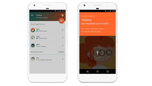 Google Güvenilir Kişiler uygulaması yayınlandı