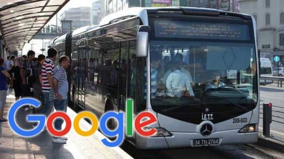 Google Transit Türkiye'de!