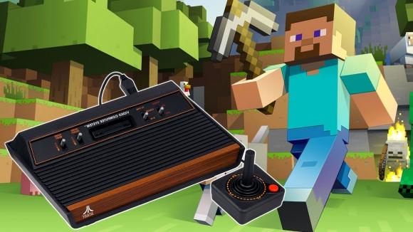 Minecraft içinde Atari yaptılar!