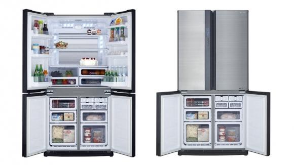 Sharp çift kapılı buzdolabı: Kız Kıza #10