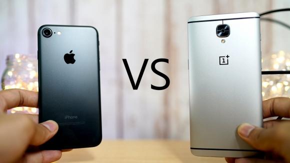 OnePlus 3T ile iPhone 7 Plus karşı karşıya!