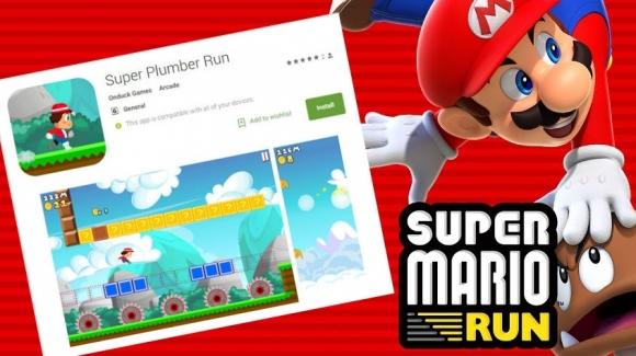 Android için Super Mario klonları çıktı bile!