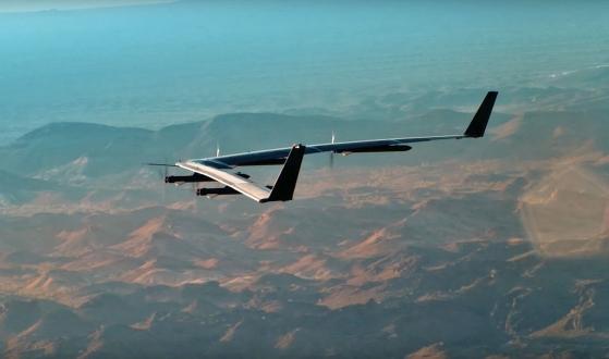 Facebook'un drone'u yere çakıldı