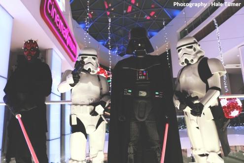 Star Wars hayranları toplandı
