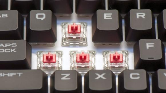 Cherry MX sessiz anahtarları yaygınlaşıyor
