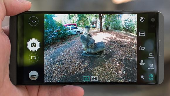 LG V20 kamera puanı belli oldu!