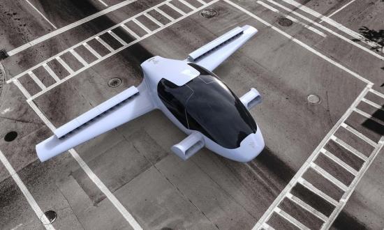 Uçan otomobile 10 milyon Euro