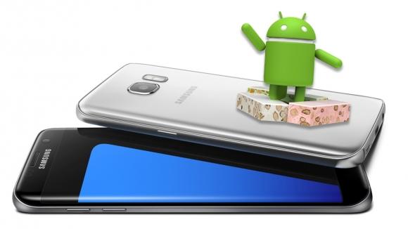 Galaxy S7 için Nougat güncelleme tarihi!