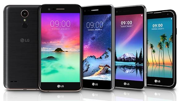 LG'den K serisi üç yeni akıllı telefon!
