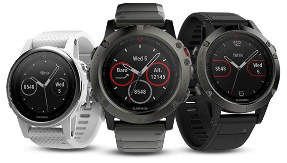 Garmin, Fenix 5 serisi akıllı saatlerini duyurdu!