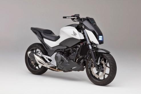 Honda'dan dengesini koruyan motosiklet!