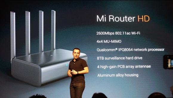 Xiaomi'den 8 TB kapasiteli Mi Router HD!