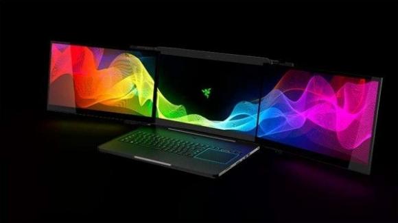 3 ekranlı notebook Razer Valerie!