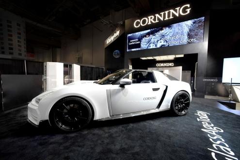 Corning'den konsept spor otomobil!