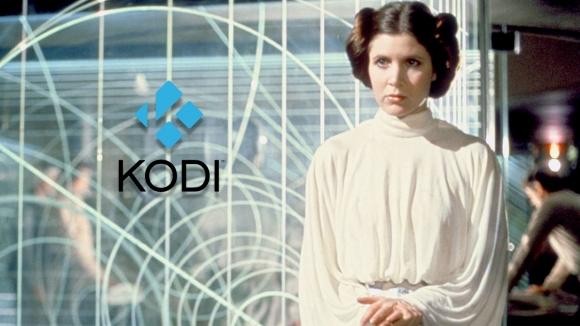 Kodi 18'den Carrie Fisher'a saygı duruşu