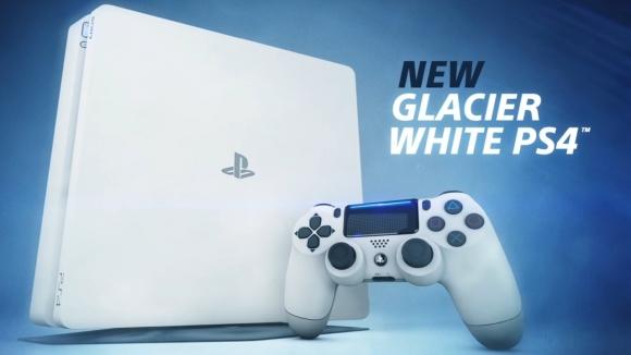 PlayStation 4 Slim için beyaz renk seçeneği