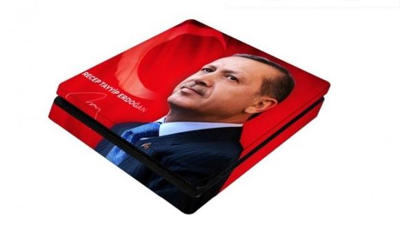 PS4 için Recep Tayyip Erdoğan teması!