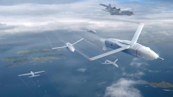 ABD ordusu sürü drone sistemini test etti