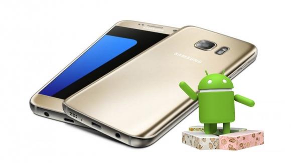 Galaxy S7 için Android 7.0 Nougat çıktı!