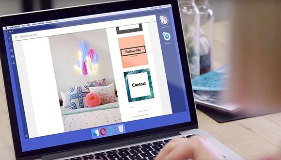 Opera'nın konsept internet tarayıcısı: Neon