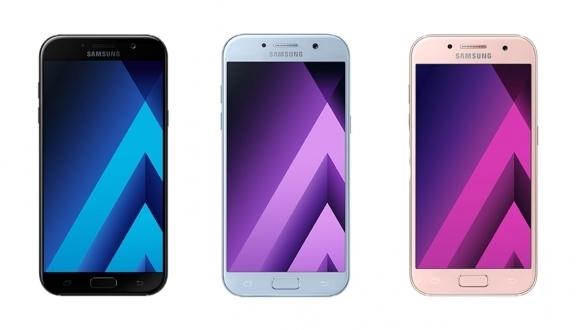 Galaxy A7, A5 ve A3 2017 Türkiye fiyatı