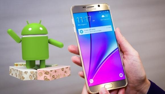 Galaxy S6 ve Note 5 Nougat tarihi belli oldu