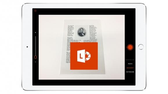 iPad için Office Lens çıktı!