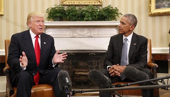 Trump ve Obama arasında Twitter takası!