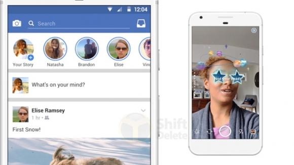 Facebook hikayeler özelliği geldi!