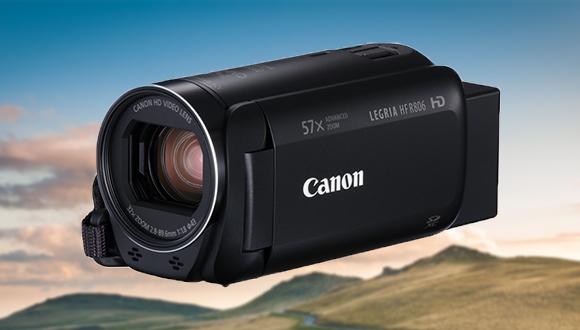 Canon'dan 57x zoom yapan: Legria HF R806
