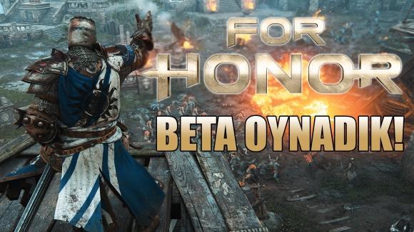 For Honor oynadık! Kılıç, kalkan, şeref!