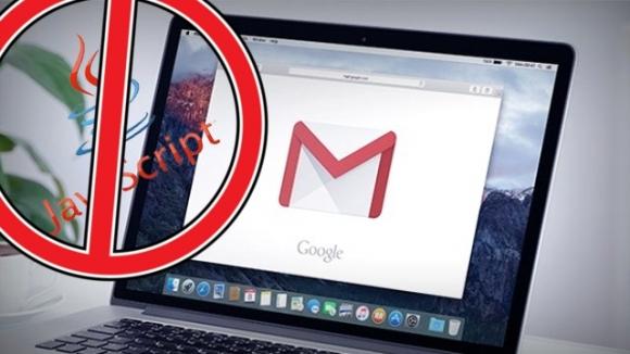 Gmail, JavaScript dosyalarını engelleyecek!