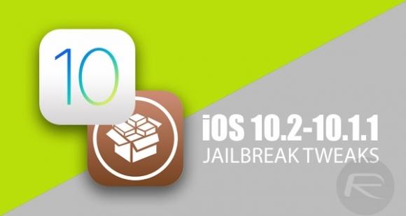 iOS 10.2 ile uyumlu tweakler