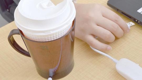Kahvenizi, çayınızı USB ile sıcak tutun!