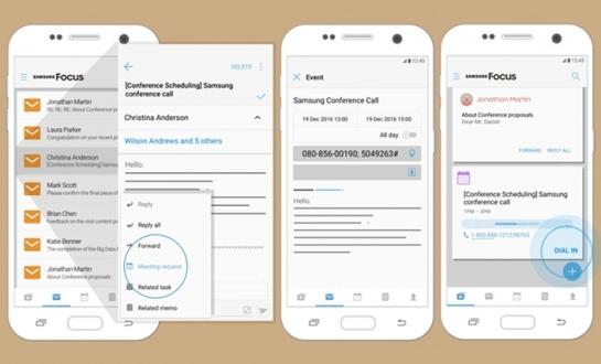 Samsung Focus uygulaması tanıtıldı