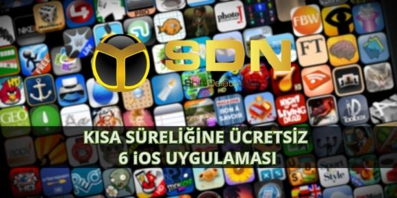 Kısa süreliğine ücretsiz 6 iOS uygulaması-10 Haziran