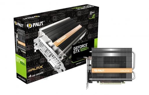 Palit GTX 1050Ti KalmX tanıtıldı!