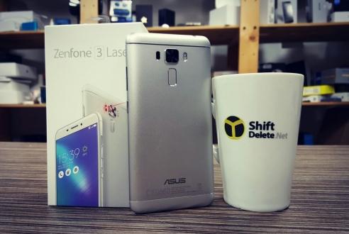 Asus Zenfone 3 Laser kutusundan çıkıyor!