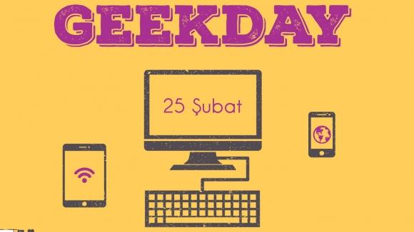 GeekDay etkinliği için yerinizi ayırtın!