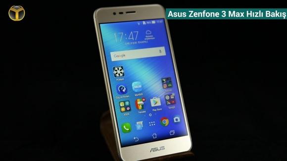 Asus Zenfone 3 Max: Hızlı Bakış
