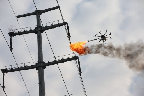Belediyeden elektrik tellerine drone çözümü!