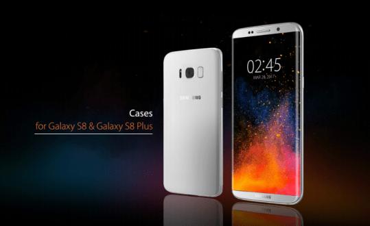 Spigen Galaxy S8 aksesuarları görüntülendi